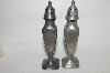 **Very Old Pewter Salt & Pepper Shakers
