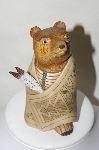**Hand Carved & Painted Medicine Bear