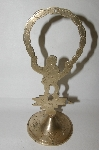 "+MBA #82-035  ""Hand Carved Oriental Brass Piece"