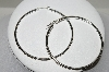 **MBA #84-179  Large Sterling Hoops