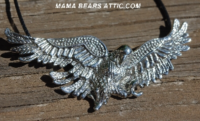 "**MBA #84-105  Sterling ""American Eagle"" Pendant"