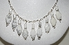 **MBA #84-063   Sterling Howlite Necklace & Earring Set