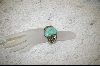 ** Green Turquoise Cuff Bracelet