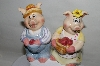 "** Popular Creations ""Pig"" Salt & Pepper Shakers"