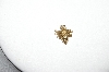 **MBA #85-212  14K Yellow Gold Small Diamond Bumble Bee Pendant