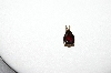 **MBA #85-215     14K Yellow Gold Pear Cut Garnet Pendant