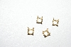 4 Total  14K Yellow Gold  4 Prong Heads