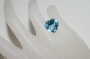 "MBA #85-153  "" 7.70 Ct Heart Cut Blue Topaz Stone"