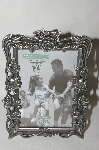 "+MBA #87-023   "" Pewter Square ""Rose Garden"" Picture Frame"