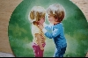 "** Donald Zolan Childhood Friendships Collection ""Sharing Secrets"" 1988"