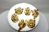**Set Of 6 Gold Plated Angel Button Covers