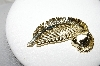 **MBA #88-546   Gerrys Gold Plated Fancy Feather Pin