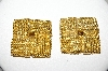 +MBA #88-142   Vintage Gold Plated Clips Made In The USA