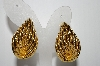 "+MBA #88-236  ""Large Beautiful Fancy Clip On Earrings"