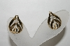 +MBA #88-164   Gold Plated Screw Back Earrings