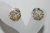 "**MBA #95-028 ""Sarah Coventry Double Sided Clip On Earrings"""