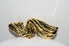 "+MBA #97-012 ""Vintage Gold Plated Fancy Brooch"""