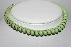 "MBA #96-126  ""Made In Germany Green Glass Necklace"""