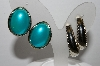 "MBA #94-088 ""Vintage 2 Pairs Of Silvertone Clip On Earrings"""