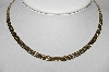 "MBA #94-129  ""Vintage Fancy Gold Filled Necklace"""