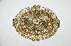 "+MBA #94-114  ""Vintage Gold Plated Fancy Pin"""