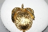 "**MBA #94-087  ""Sarah Coventry Goldtone Apple Brooch"""