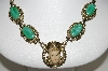 "MBA #E42-002  ""Selro/Selini Golden Asian Princess Necklace"""