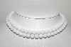 "MBA #E46-005   ""Laguna White Milk Glass Bead 2 Row Necklace"""