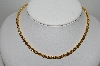 "MBA #91-060   ""Vintage Gold Plated Heavy Rope Chain"""