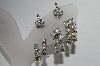 "MBA #91-183  ""Vintage Lot Of 3 Pairs Of Clear Crystal Rhinestone Earrings"""