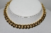 "MBA #91-091   ""Vintage Gold Plated Large Link Necklace"""