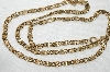 "**MBA #E48-207  MBA #E48-207   ""Avon Fancy Gold Tone Chain"""