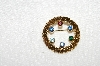 "MBA #E52-260   ""Anson Multi Colored Gemstone Gold Filled Round Pin"""