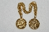 "**MBA #E52-160   ""Vintage Gold Plated Sweater Pins"""