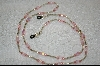Pink Square Cut Luster Beads & Glass Pearls
