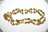 "MBA #E51-388   ""Avon Goldrone Fancy Link Bracelet"""