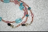 "Item MBA #6400  "" Turquoise Colored Glass Beads"