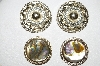 "MBA #E51-443   ""Vintage Lot Of (2) Pairs Of Clip On Earrings"""