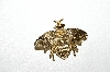 "**MBA #E51-236   ""Vintage Gold Plated Bee Pin"""