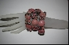 **   Set Of 3 Stretch Rhodochrosite Bracelets