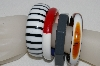 "MBA #E54-094   ""Vintage Lot Of  ""4"" Bakelite Bangle Bracelets"""