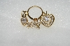 "+MBA #E54-259   ""Older Lot Of 4 Pieces Of Gold Plated CZ Jewelry"""