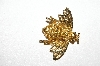 "MBA #E56-191   ""Avon Gold Tone Bee Pin"""