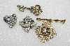 "**MBA #E56-027   ""Vintage Lot Of ""4"" Pins"""