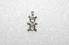 "MBA #S51-111   ""1980's Sterling  April Bear Pendant"""