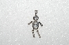 "MBA #S51-113   ""1980's Sterling April Boy Pendant"""