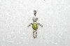 "MBA #S51-133   ""1980's Sterling August ""KID"" Boy Pendant"""