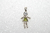 "MBA #S51-136   ""1980's Sterling August Girl Pendant"""