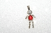 "MBA #S51-646   ""1980's Sterling July Boy Pendant"""