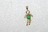 "MBA #S51-611    ""1980's Gold Plated Sterling May Boy Pendant"""